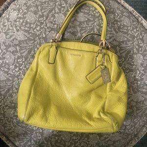 Coach bag - yellow
